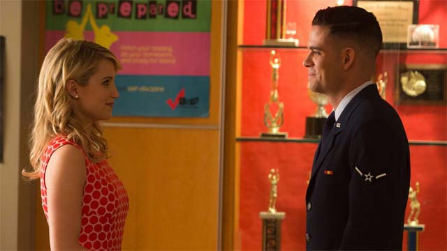 puck and quinn glee, puck glee, glee 100 episode