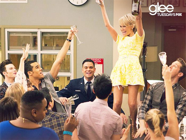 glee 100, kristin chenoweth glee, glee songs 100th episode