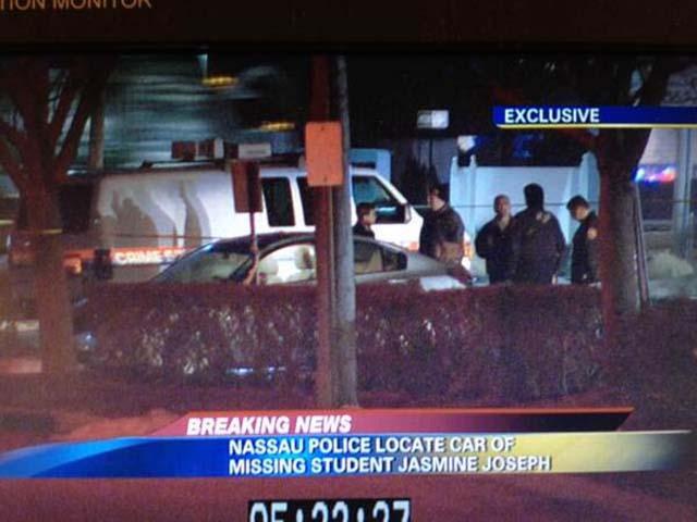 Jasmine Joseph Car Found