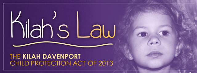 Kilah Davenport Law Kilah's Law Dead