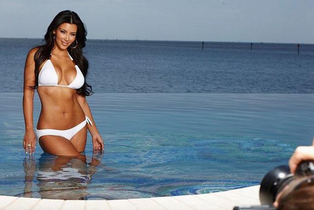Kim Kardashian bikni