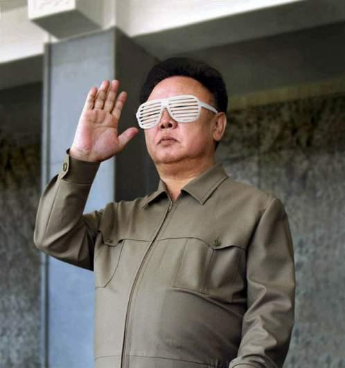 Kim Jong Il's Kanye Shades