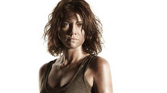 the walking dead, season 4 walking dead, maggie and glenn, lauren cohan