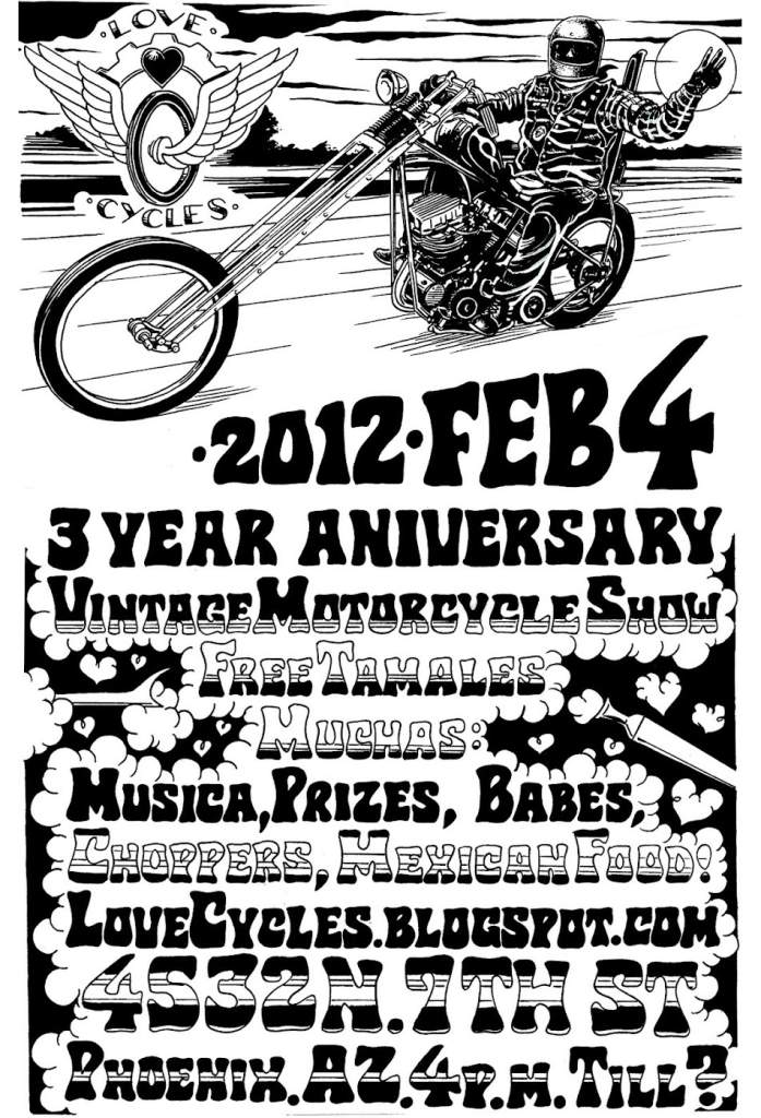 Love Cycles 3rd Year Anniversary Party