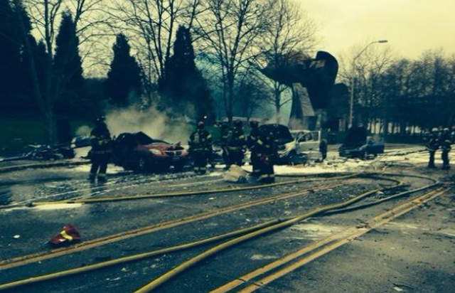 Seattle Fire Department Helicopter Crash