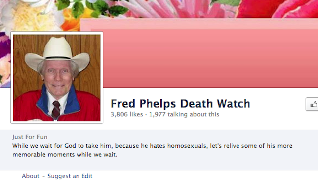 Fred phelps dead