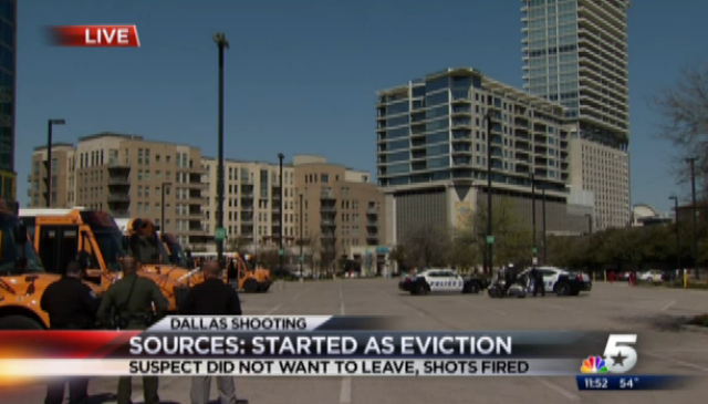 Apartment Complex Shooting in Dallas