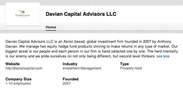 Anthony Davian LinkedIn