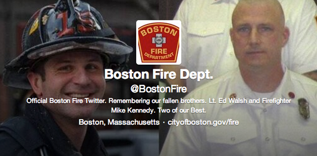 Boston Fire Twitter