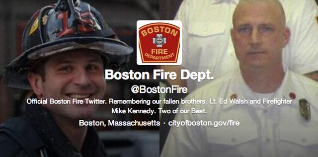 Boston Fire Twitter