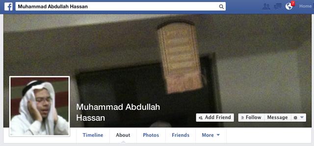 Muhammad Abdullah Hassan Booker Facebook
