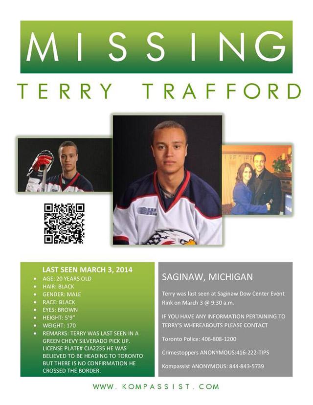 Terry Trafford Missing, Terry Trafford Dead