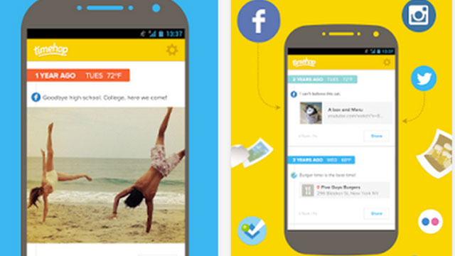 timehop android app