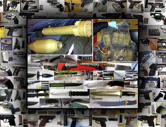 tsa weapons guns seized 2013-