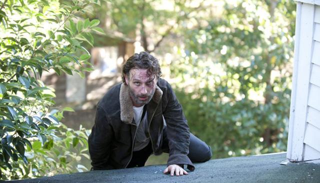 The Walking Dead Rick, walking dead season 4 finale