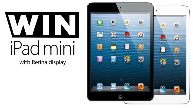 Win iPad Mini Here
