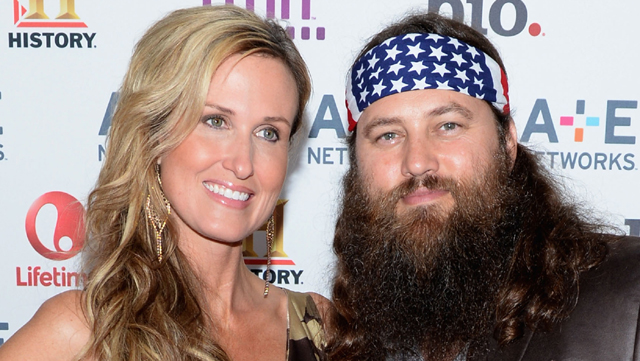 willie wife duck dynasty, willie and korie