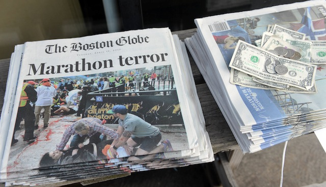 boston marathon one year anniversary