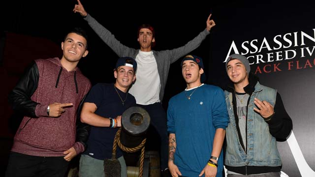 The Janoskians, The Janoskians Videos, Janoskians Stunts, Janoskians Skits, Beau Brooks, Jai Brooks, Luke Brooks, Daniel Sahyounie, Skip Sahyounie, James Yammouni, DJ James Yammouni