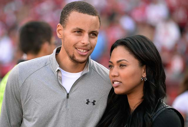 Who is Steph Curry's wife?