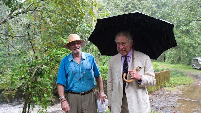 mark shand dead, prince charles brother-in-law dead