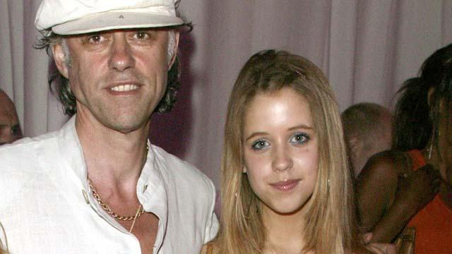 Peaches Geldof Bob Geldof