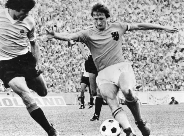 Johan Cruyff Louis van Gaal