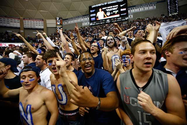 UConn Fans Banned