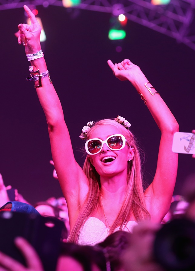 Paris Hilton Coachella 2014, Coachella 2014 Celebrity Sightings, Coachella 2014 Performers, Coachella 2014 Photos, Best Coachella Photos 2014, Coachella 2014 Pics, Celebrities At Coachella 2014