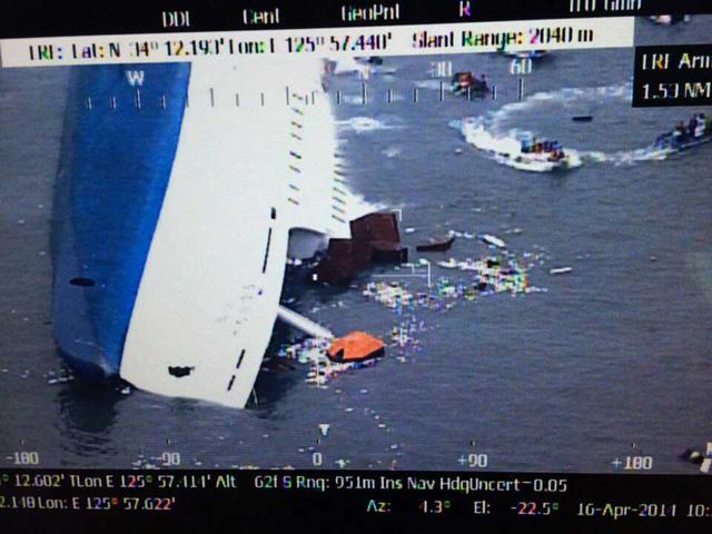 south korea ferry sinks, sewol