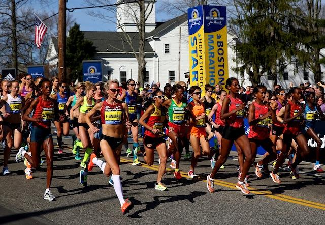 Shalane Flanagan, Boston Marathon