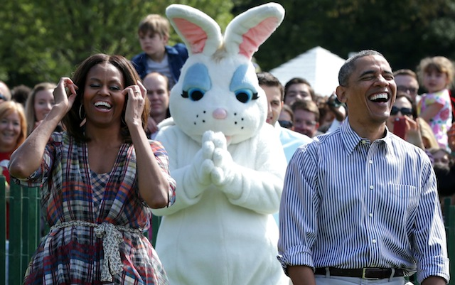 obamas and the easter bunny