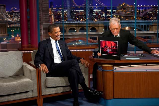 David Letterman Last Show
