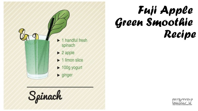 Apple green smoothie recipe
