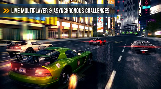 asphalt 8 airborne android app