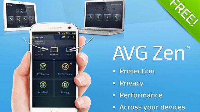avg zen android app