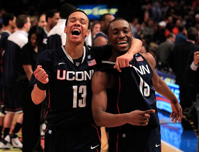 Shabazz Napier, Kemba Walker, UConn basketball, Final Four