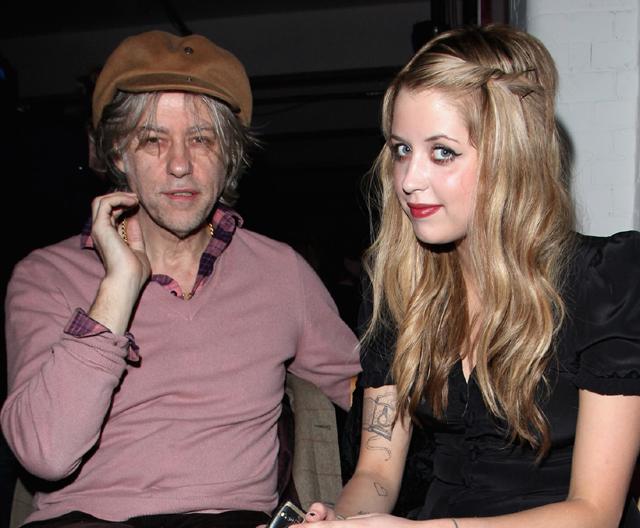 Bob Geldof, peaches geldof