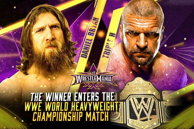 Daniel Bryan Triple H