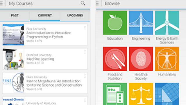 coursera android app