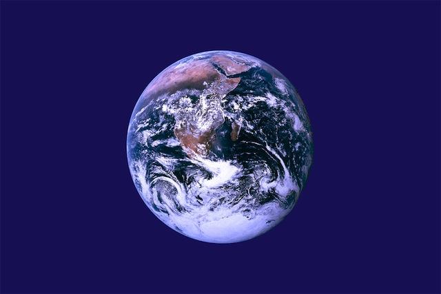 Earth day 2014 flag