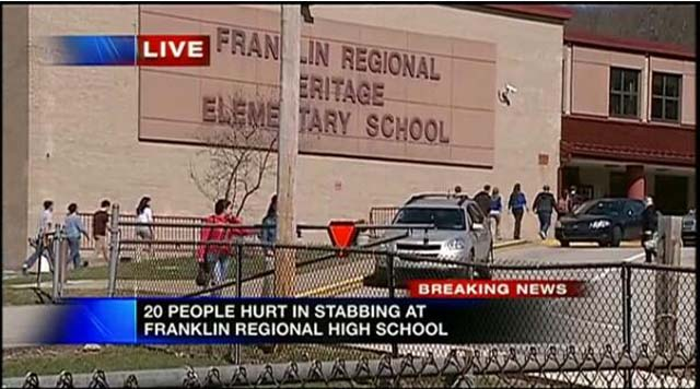 Franklin Regional High School Stabbing Attack