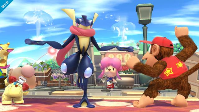 Greninja Super Smash Bros