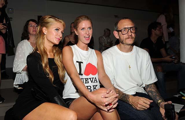Terry Richardson, Emma Appleton, Paris Hilton, Nicky Hilton