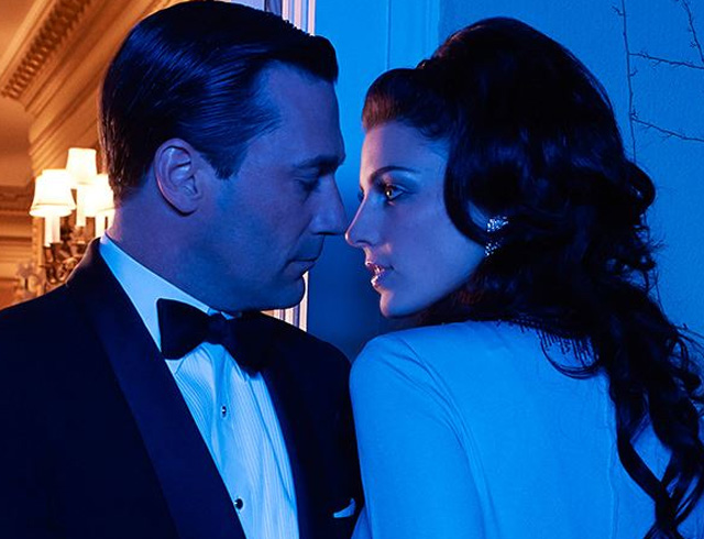 don and megan draper, mad men, mad men season 7