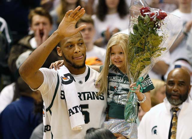 Lacey Holsworth dead, Adreian Payne, Michigan State basketball
