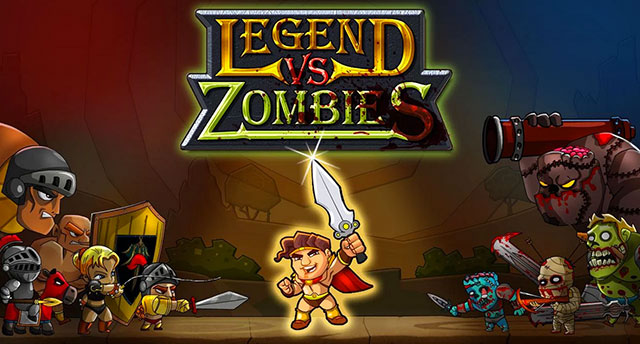 legend vs zombies android app