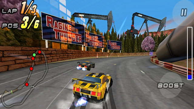 raging thunder 2 android app