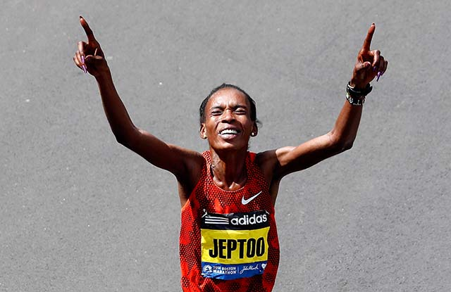 Rita Jeptoo, Boston Marathon