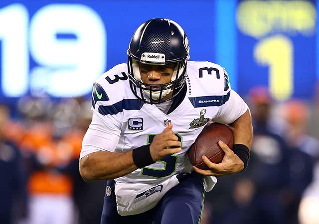 Russell Wilson, Seahawks-Broncos preseason Week 1